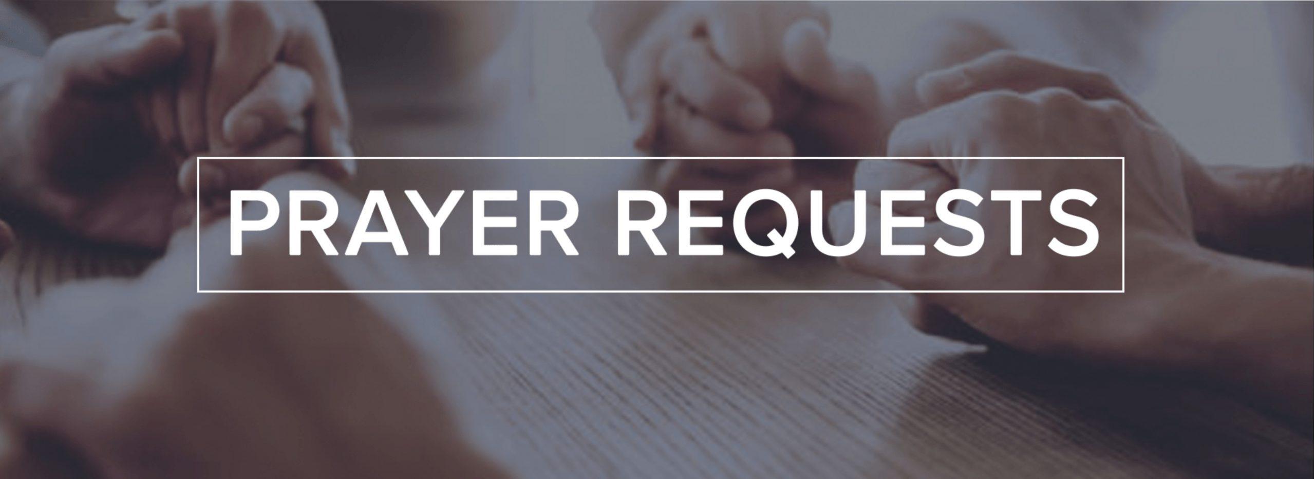 Prayer Request 1